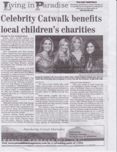 Celebrity Catwalk Benefits Local Children's Charity