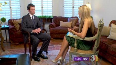 Carey Pena interviews Ben Quayle for 3TV