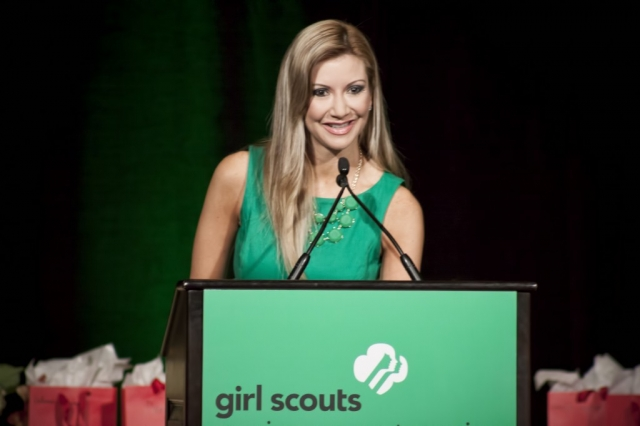 Carey Pena Emcee of the Girl Scouts World Awards