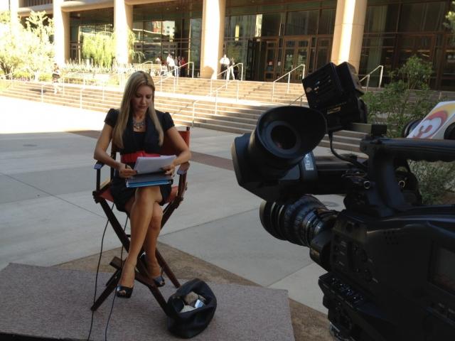 Carey Pena live at the Jodi Arias Trial in Phoenix