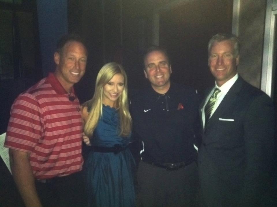 Carey Pena and Fields Moseley host event with Arizona Diamondbacks Luis Gonzalez and Derrick Hall