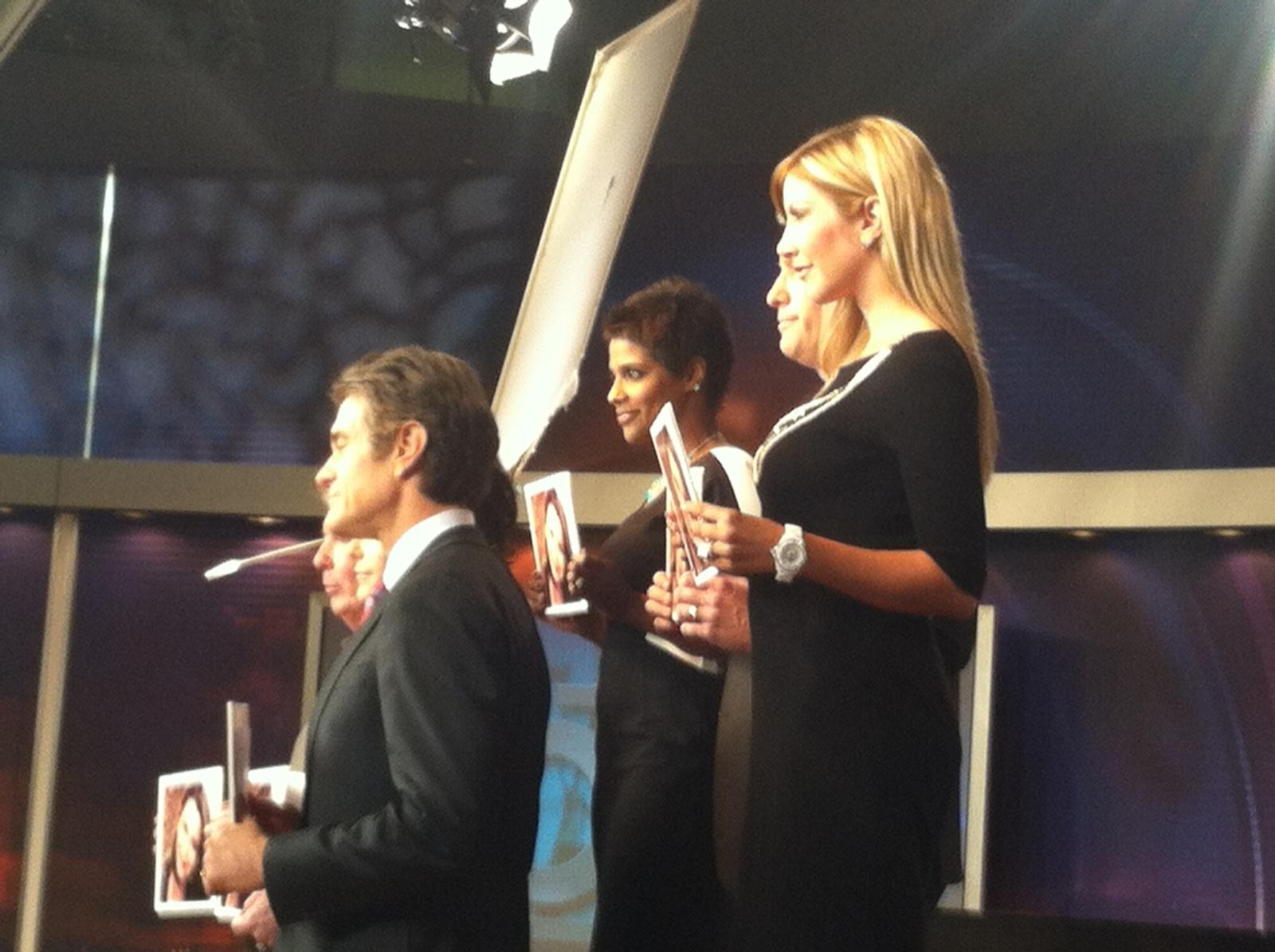 Carey Pena, Yetta Gibson and Dr. Oz appear in Rachel's Challenge PSA