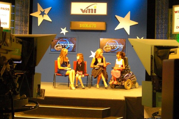 Carey Pena Co-Hosts the MDA Telethon with Tara Hitchcock