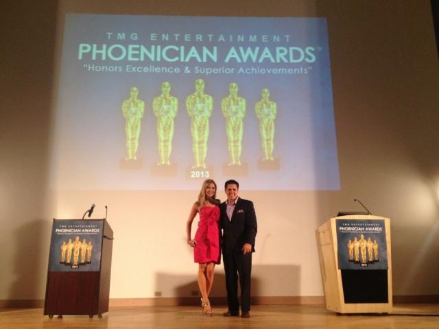 Carey Pena & Javier Soto Host the Phoenician Awards
