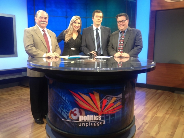 Carey Pena and Dennis Welch host Politics Unplugged