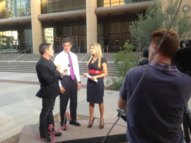 Carey Pena and Mike Watkiss cover the Jodi Arias trial for 3TV Phoenix