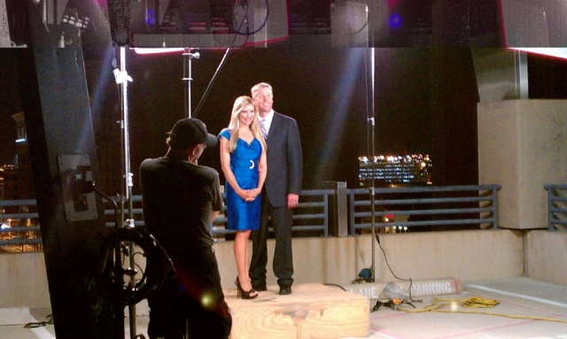 Carey Pena and Fields Moseley shoot promo for 3TV Phoenix