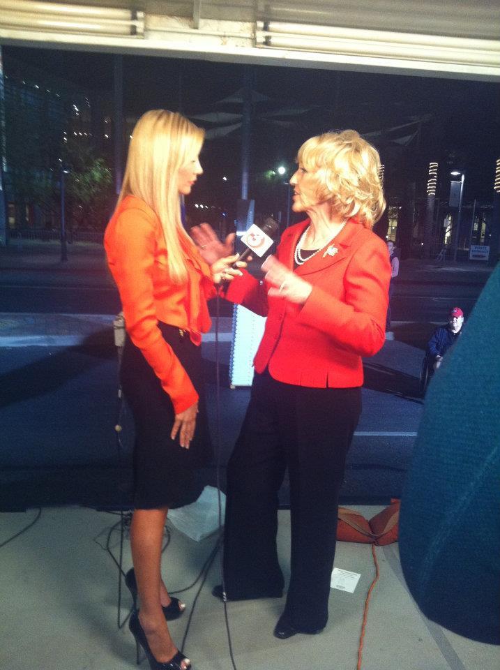 Carey Pena interviews Governor Jan Brewer