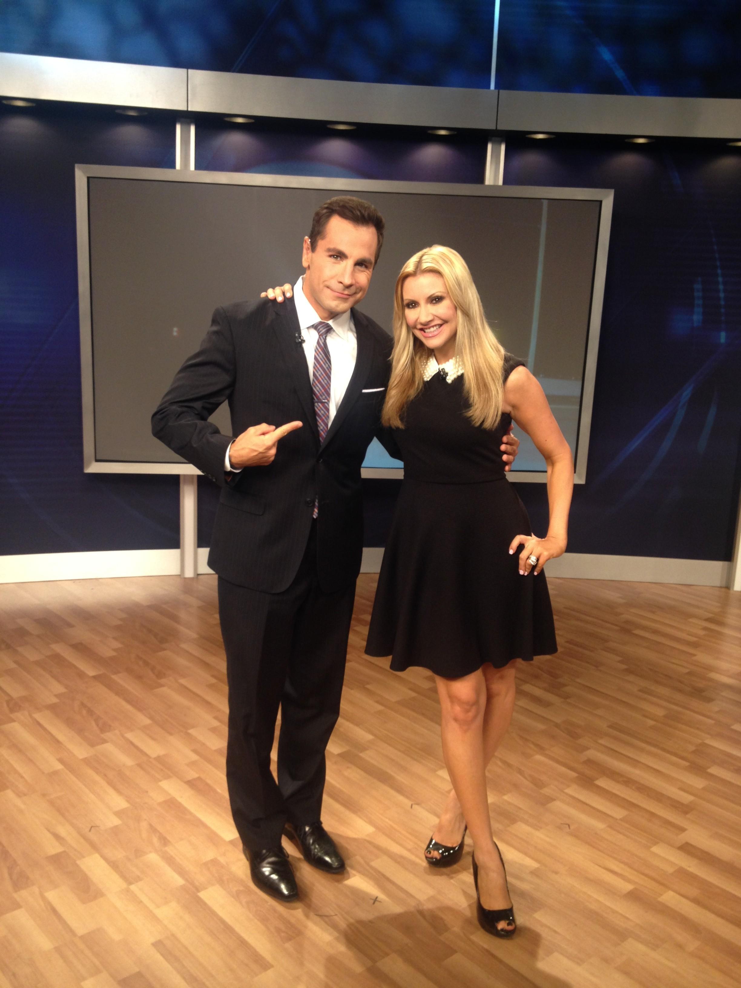 Carey Pena on set with Brandon Lee
