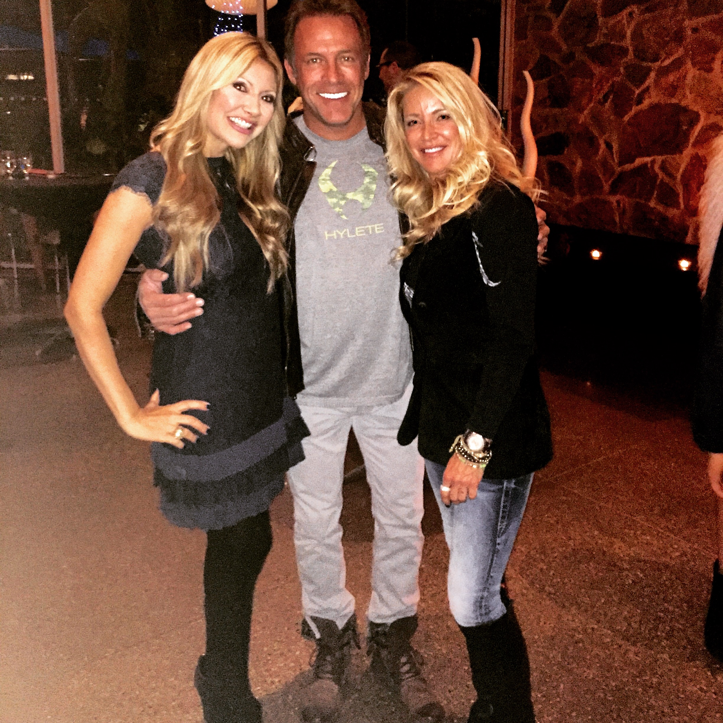 Carey Pena & 3TV's Scott Pasmore at The Hotel Valley Ho in Phoenix