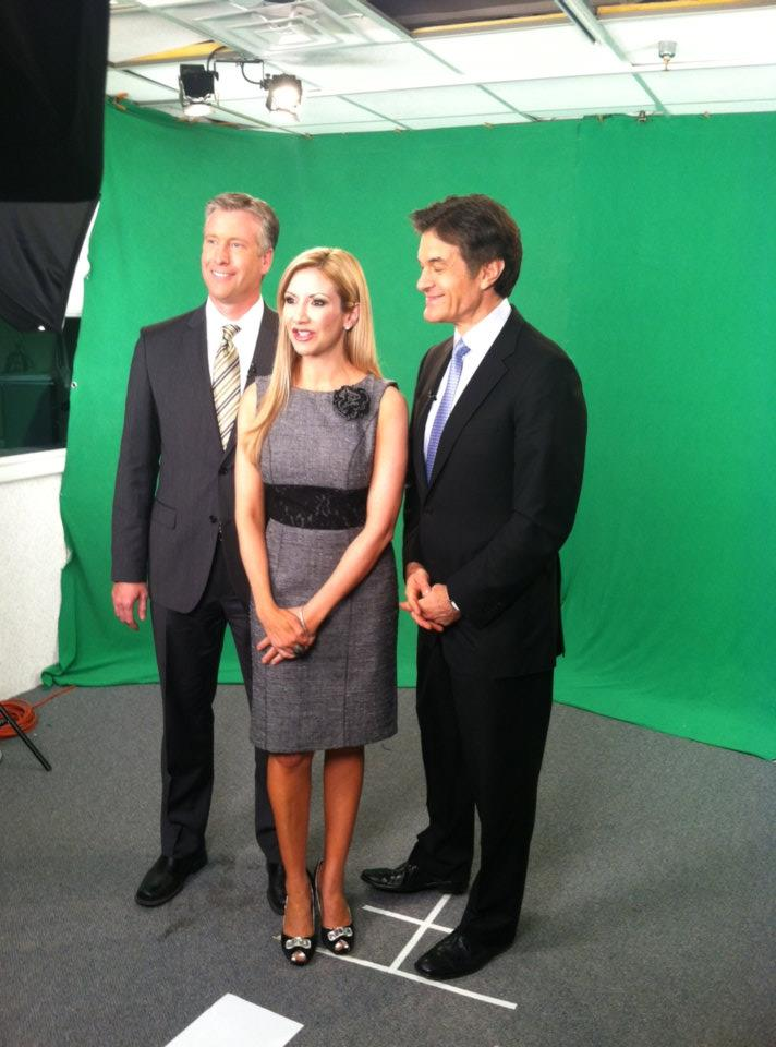 Carey Pena, Dr Oz and Fields Moseley