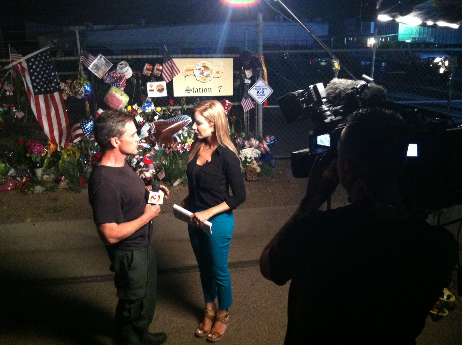 Carey Pena and Mike Watkiss cover the Granite Mountain Hotshots for 3TV Phoenix
