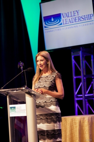 Carey Pena Emcees Valley Leadership Man & Woman of the Year Awards