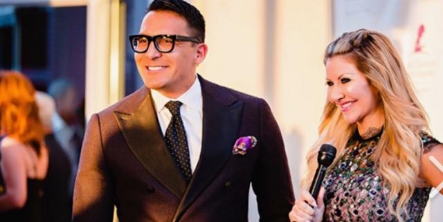 Carey Pena and Oscar de Las Salas host red carpet event for St. Jude
