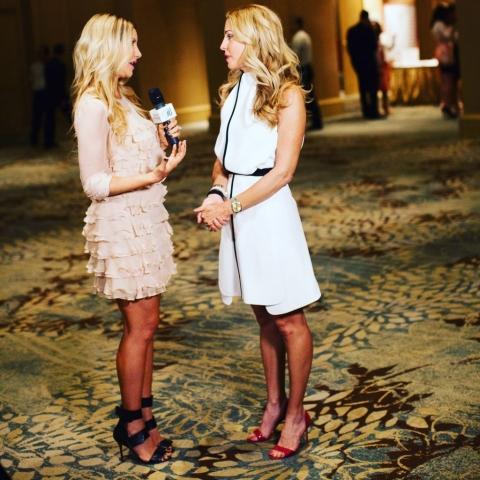 Carey Pena interviews Heart Ball Chairman Char Hubble