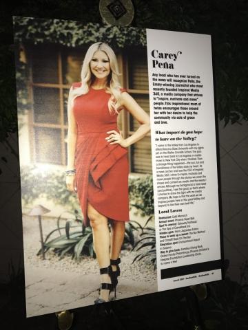 Carey Pena featured in Arizona Foothills Magazine