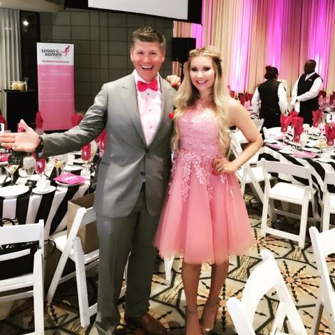 Carey Pena hosts breast cancer awareness fundraising event