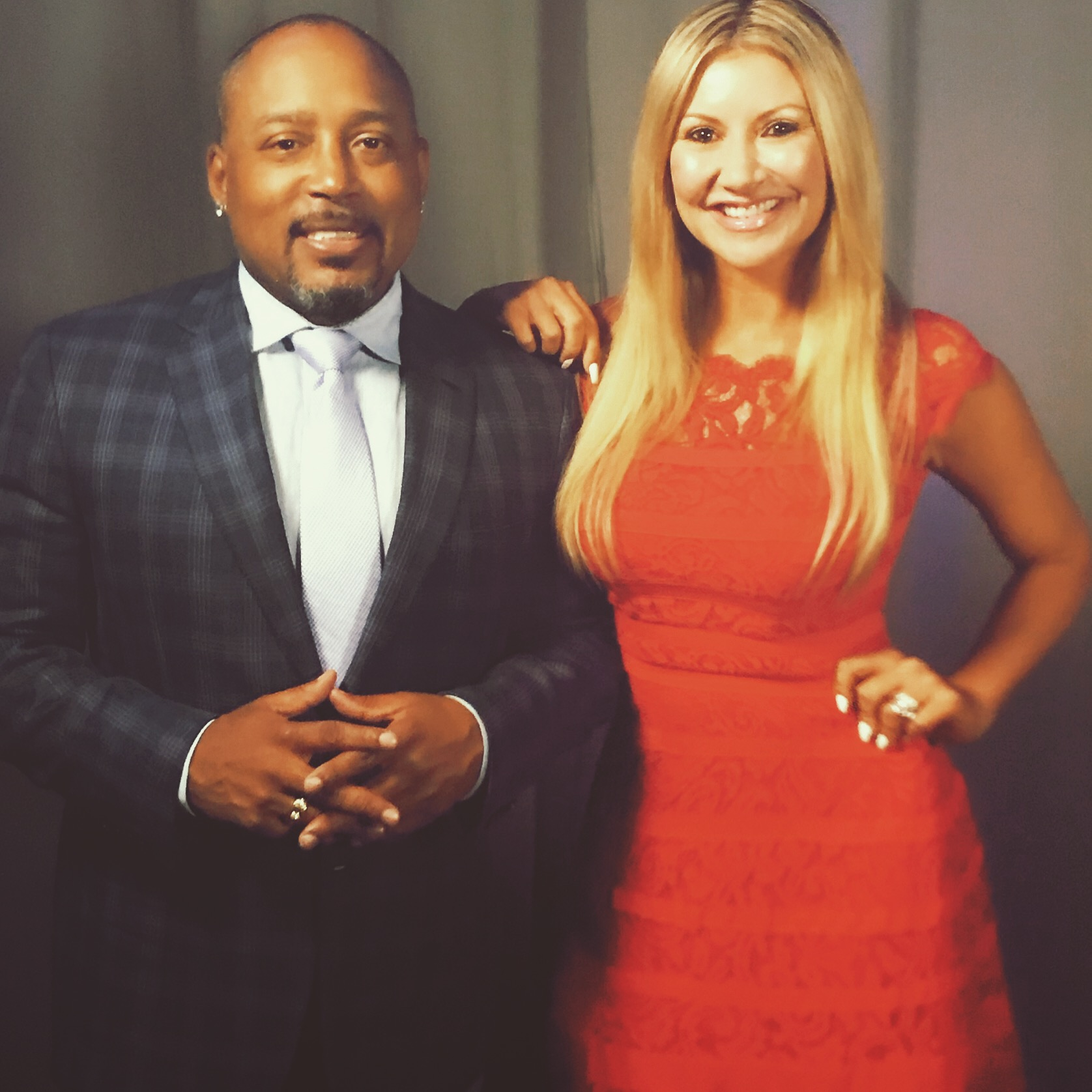 Carey Pena interviews Daymond John at the Chase For Business Conference