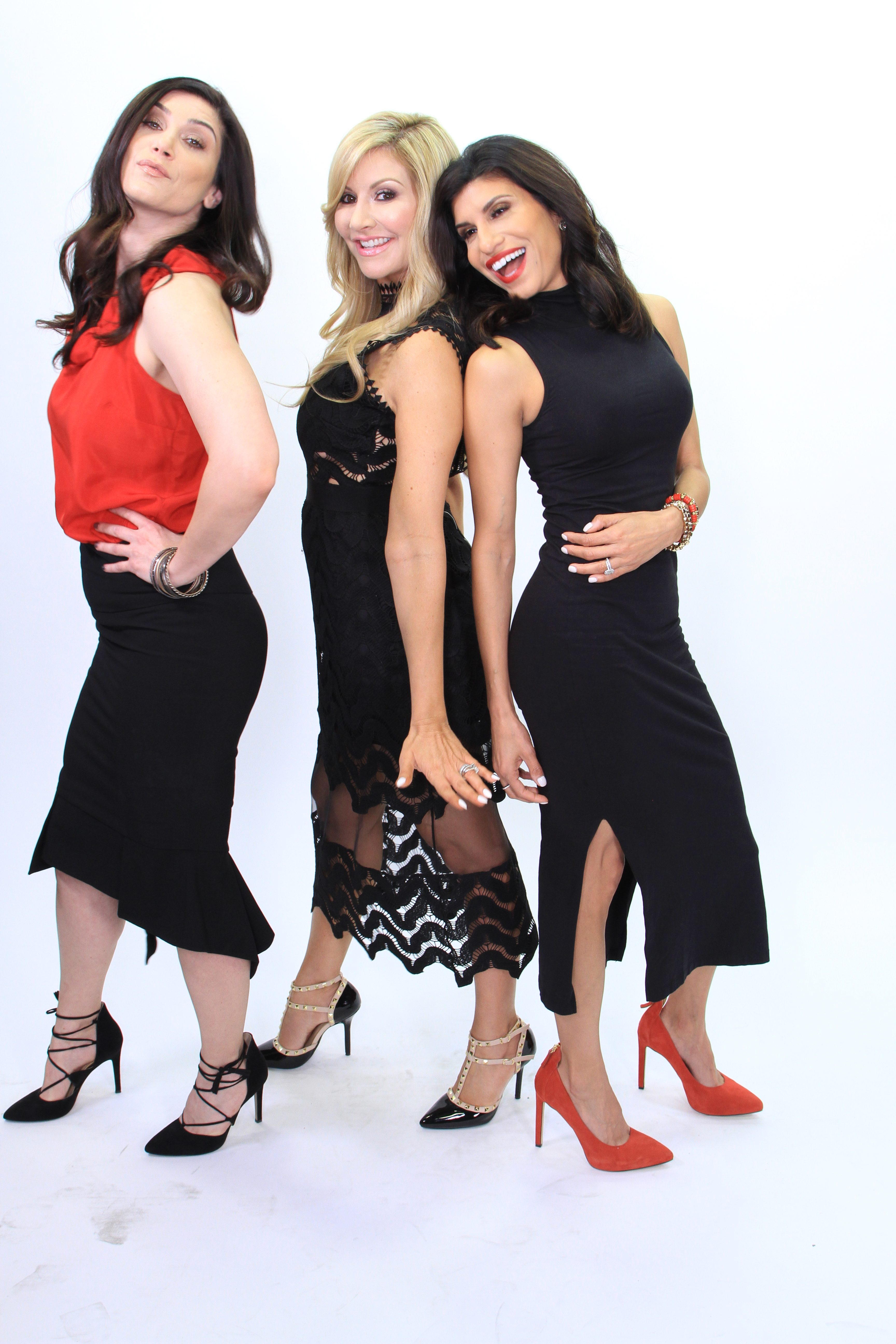 Carey Pena, Zenobia Mertel from Inspired Media 360 and Gelie Akhenblit from Networking Phoenix