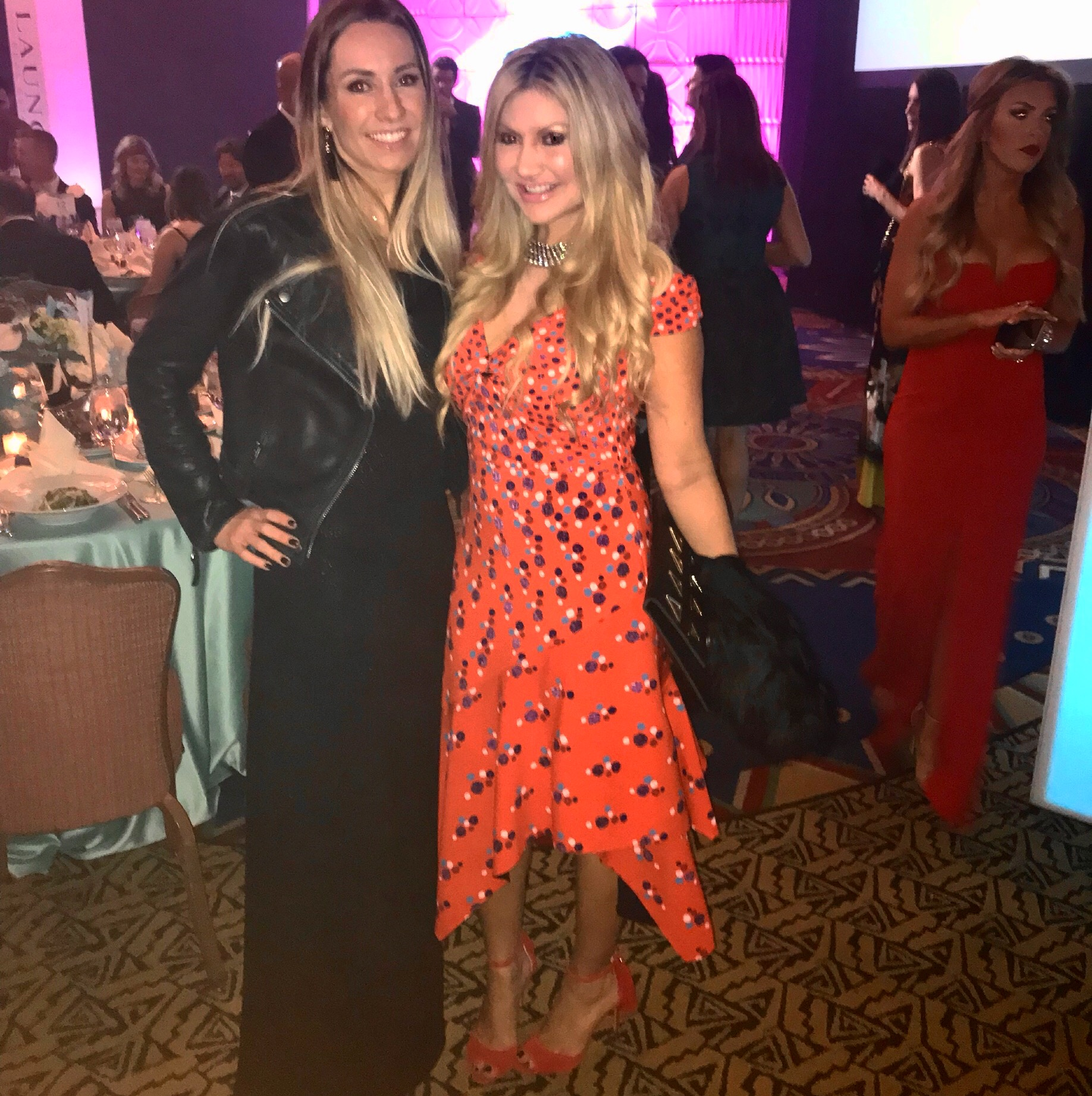 Carey Pena and Perrine Adams attend Collen's Dream