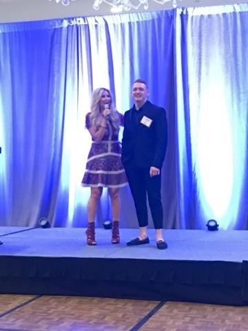 Carey Pena Emcees Southwest Kids Cancer Foundation event