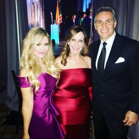 Carey Pena hosts Catholic Charities Foundation with Kurt Warner and Deborah Lippmann